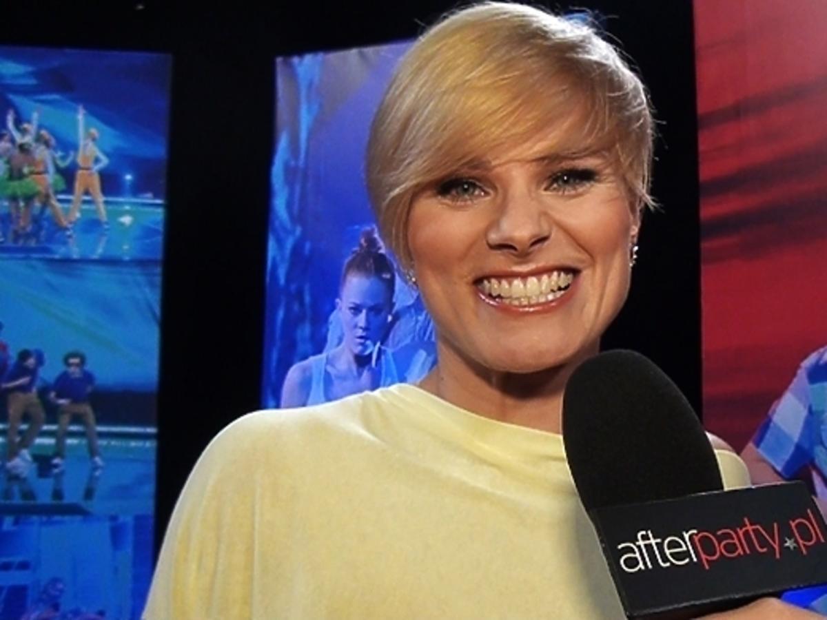 Letnia fryzura Anny Głogowskiej
