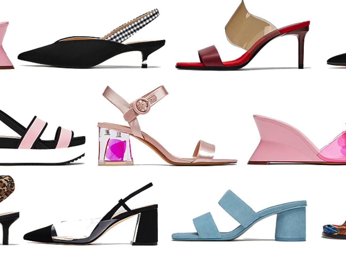 Letnie buty w letniej wyprzedaży w Zarze