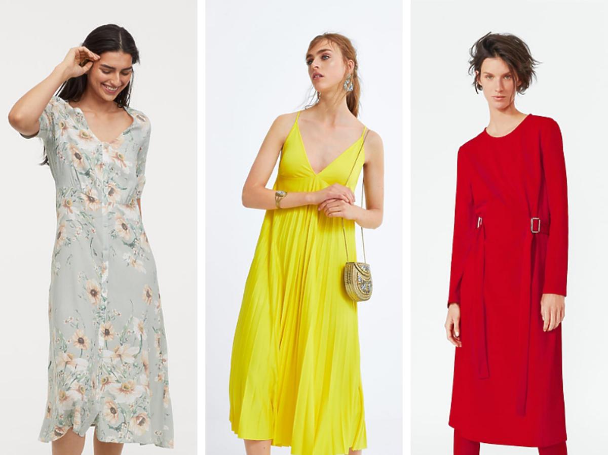 Letnie sukienki z Wyprzedazy