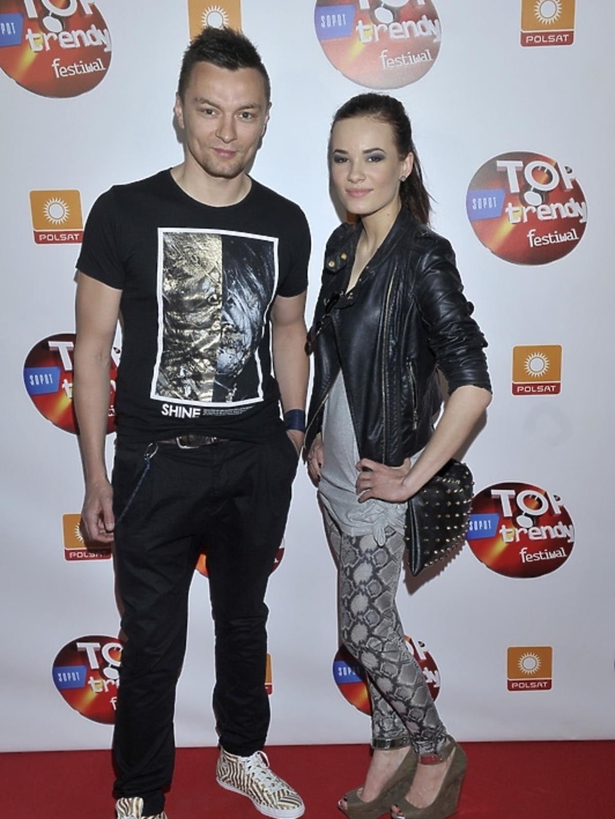 Liber i Natalia Szroeder na konferencji Top Trendy 2013
