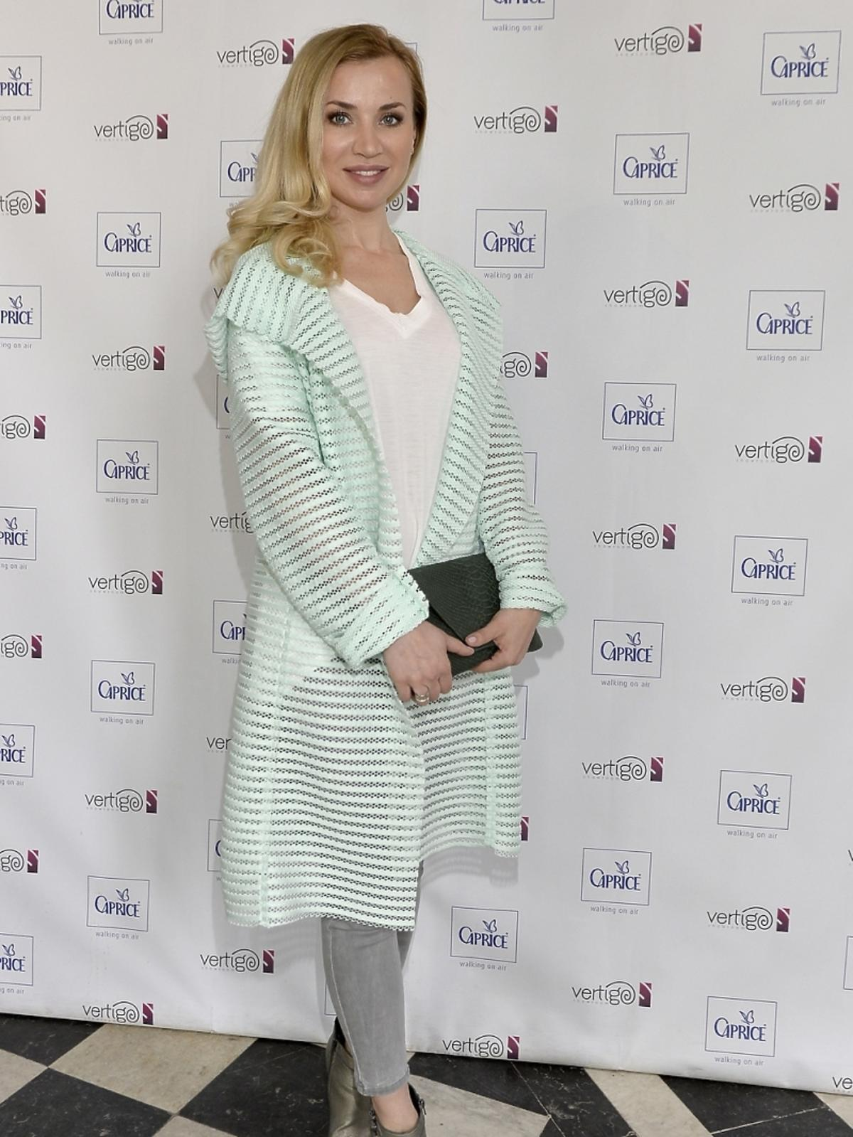 Lidia Kopania na dniu otwartym marki Caprice