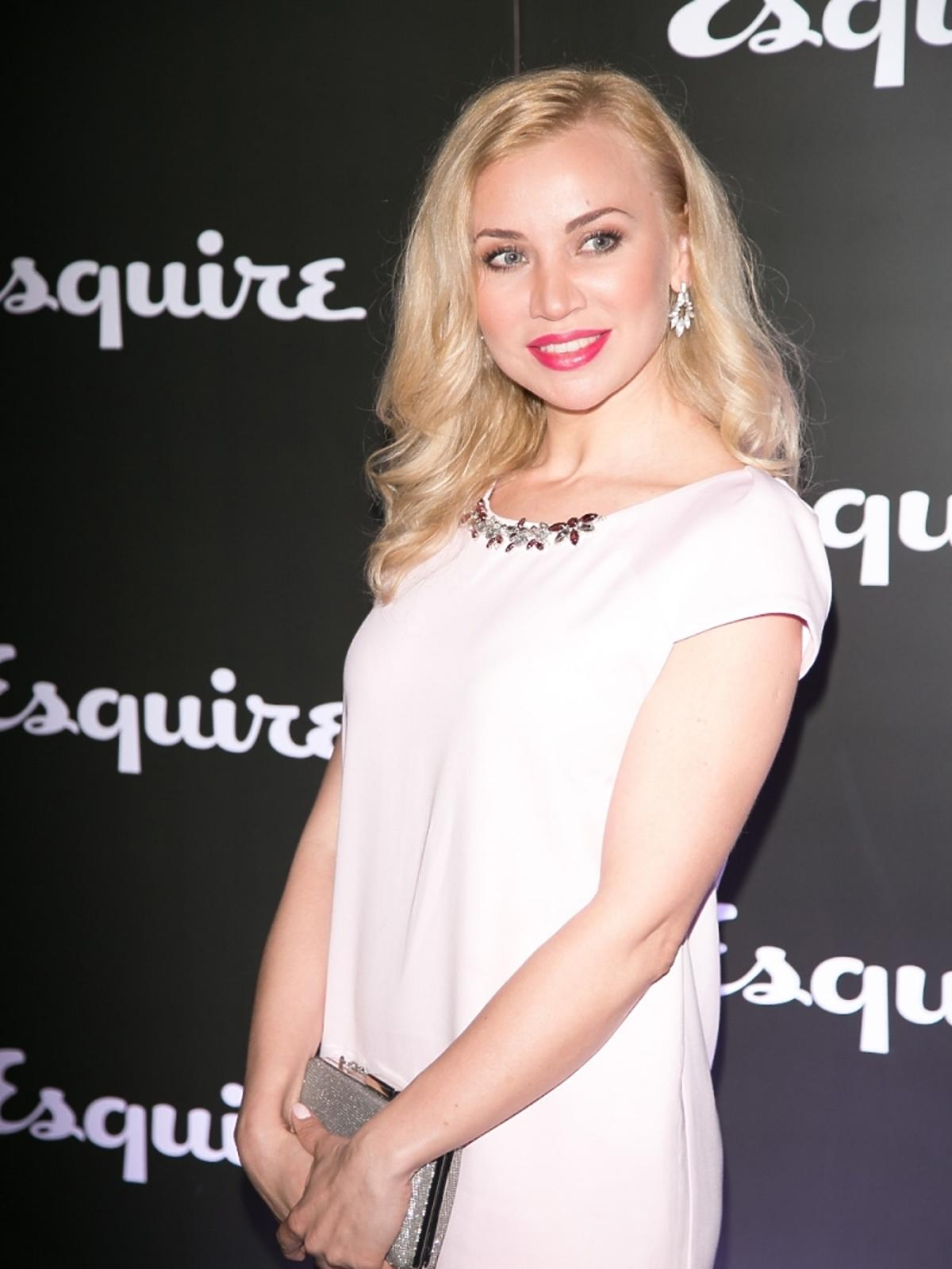 Lidia Kopania na imprezie magazynu Esquire