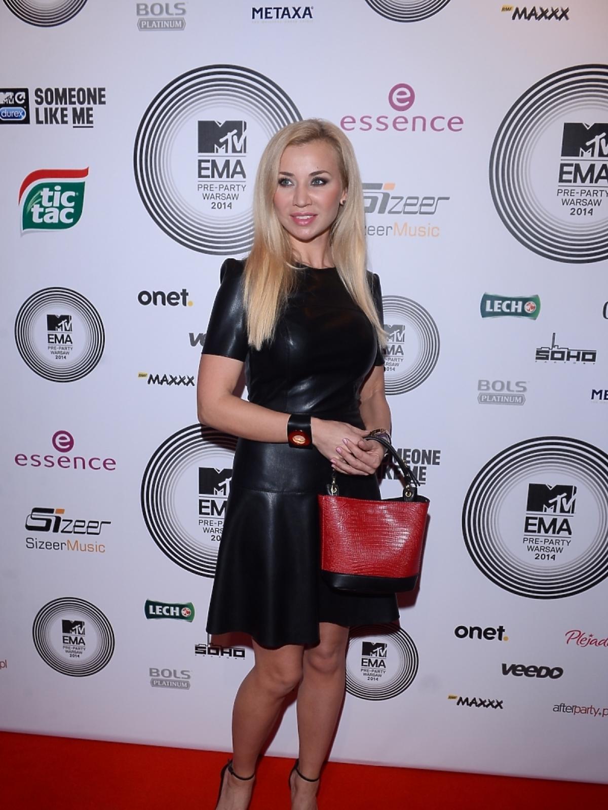 Lidia Kopania na MTV EMA Pre-Party 2014