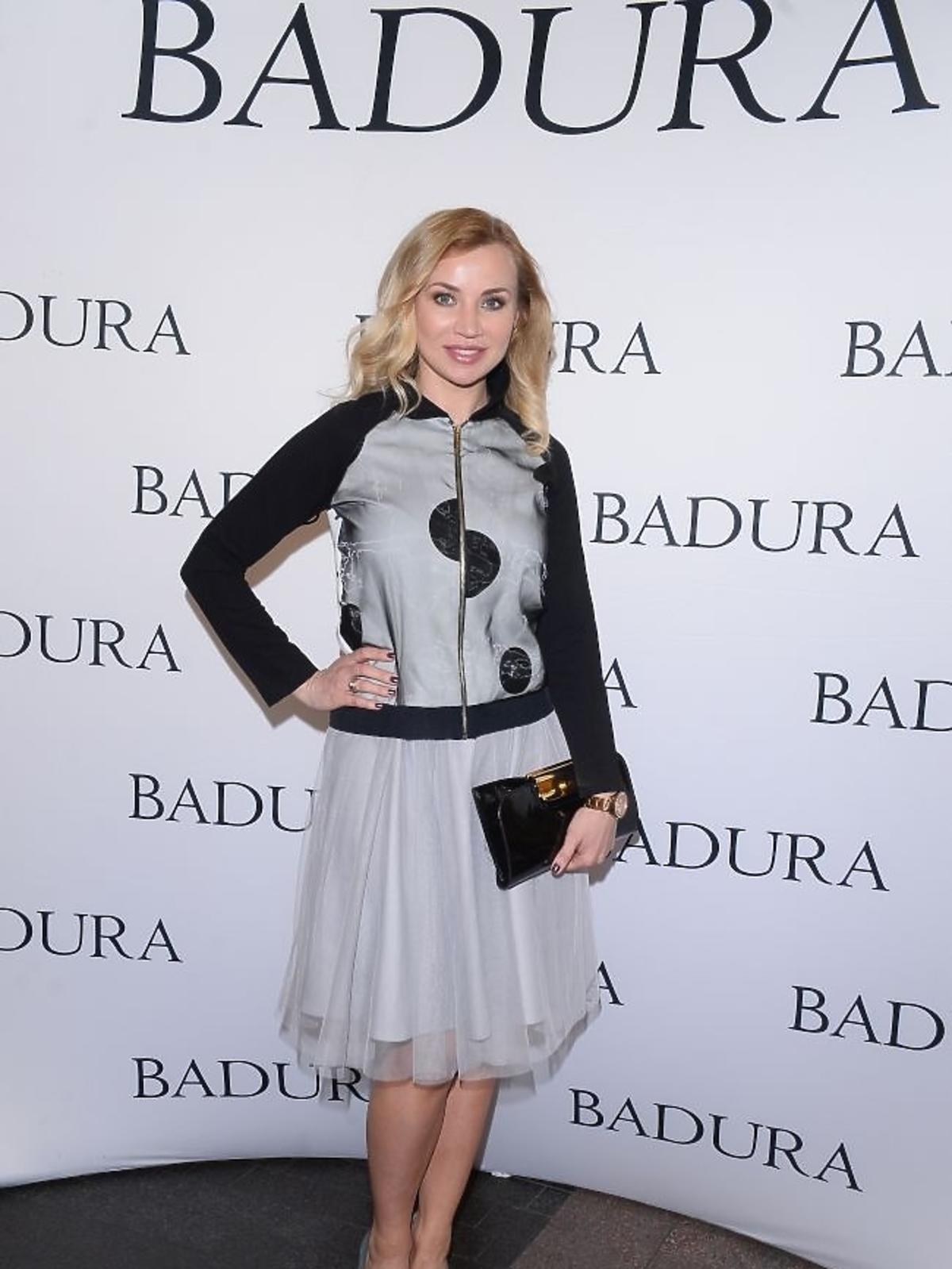 Lidia Kopania na prezentacji marki Badura