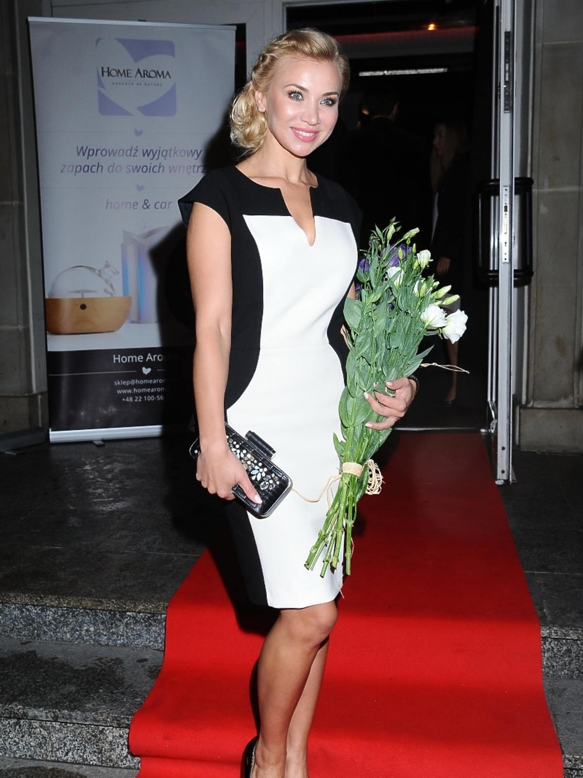 Lidia Kopania na urodzinach bloga Ewy Wojciechowskiej