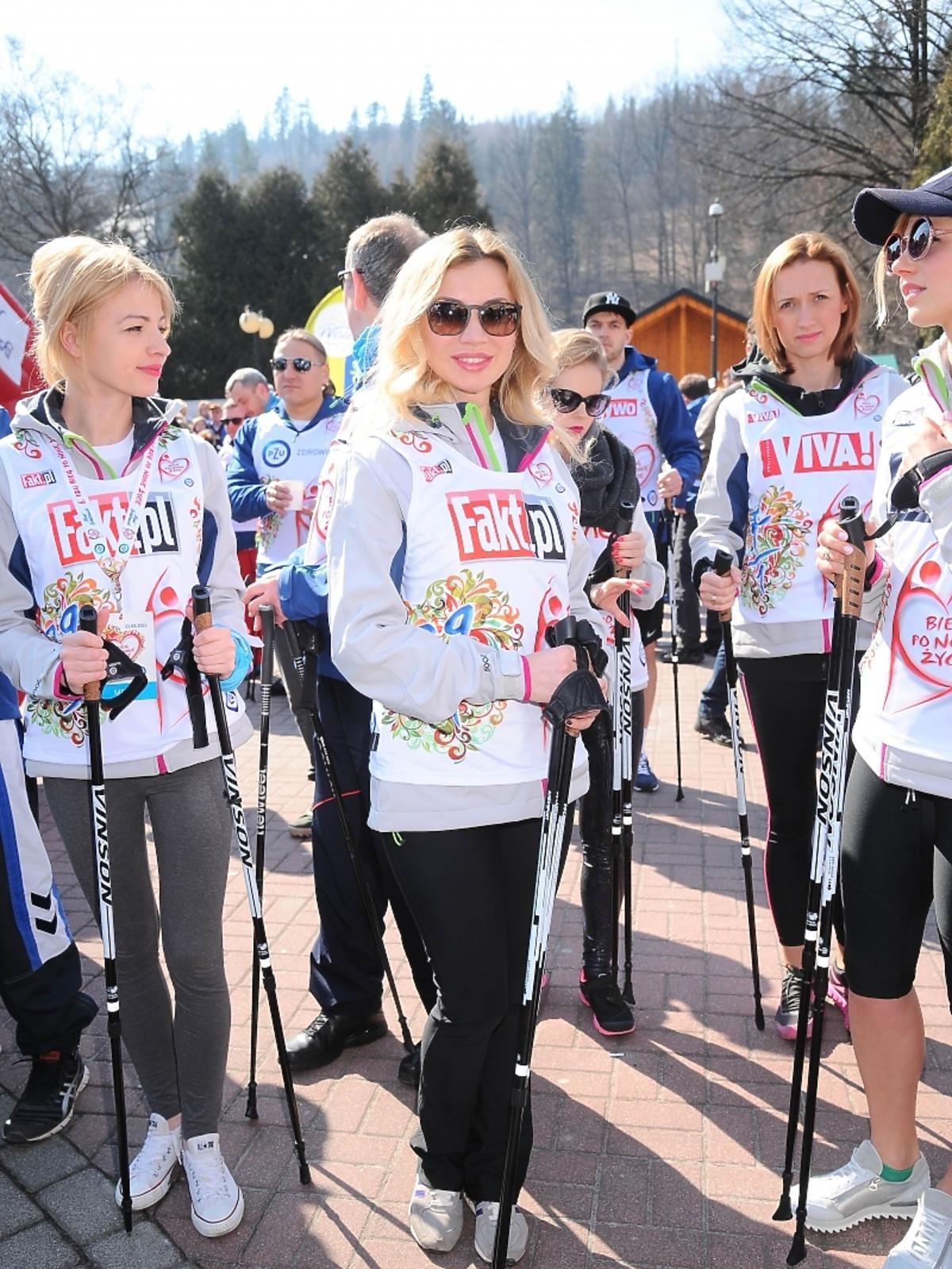 Lidia Kopania w charytatywnym biegu