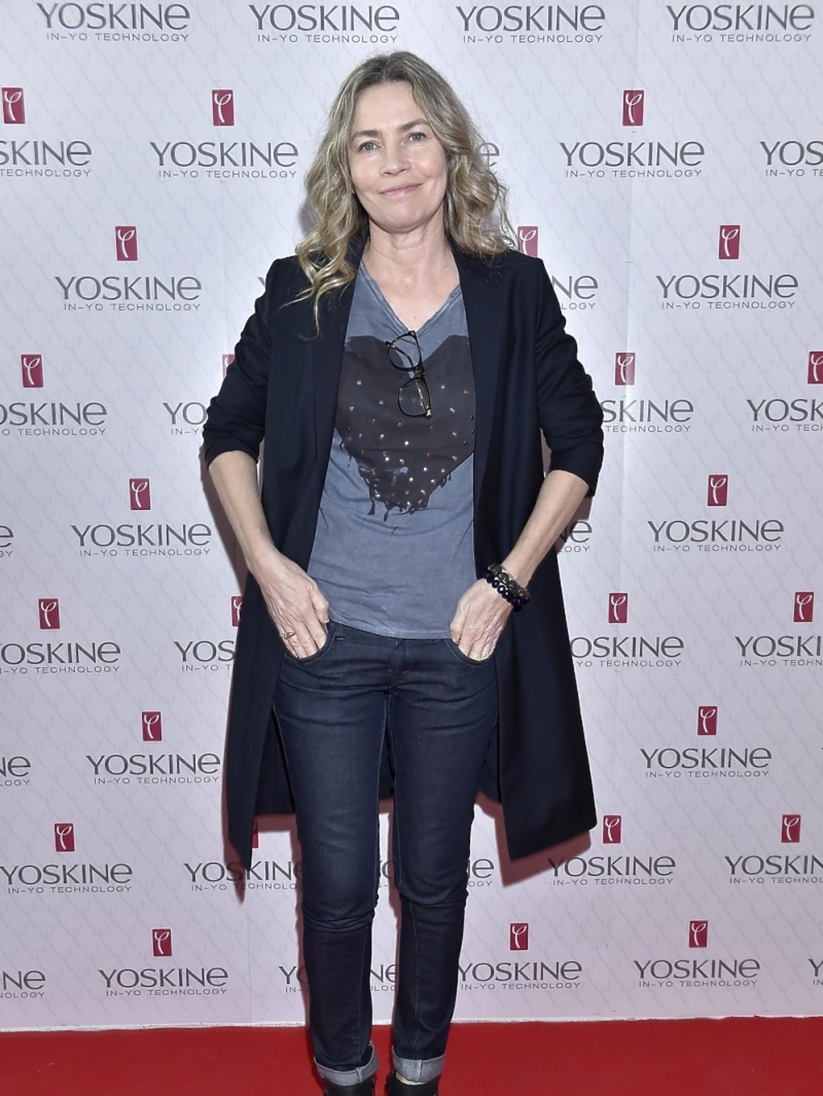 Lidia Popiel na konferencji prasowej Yoskine