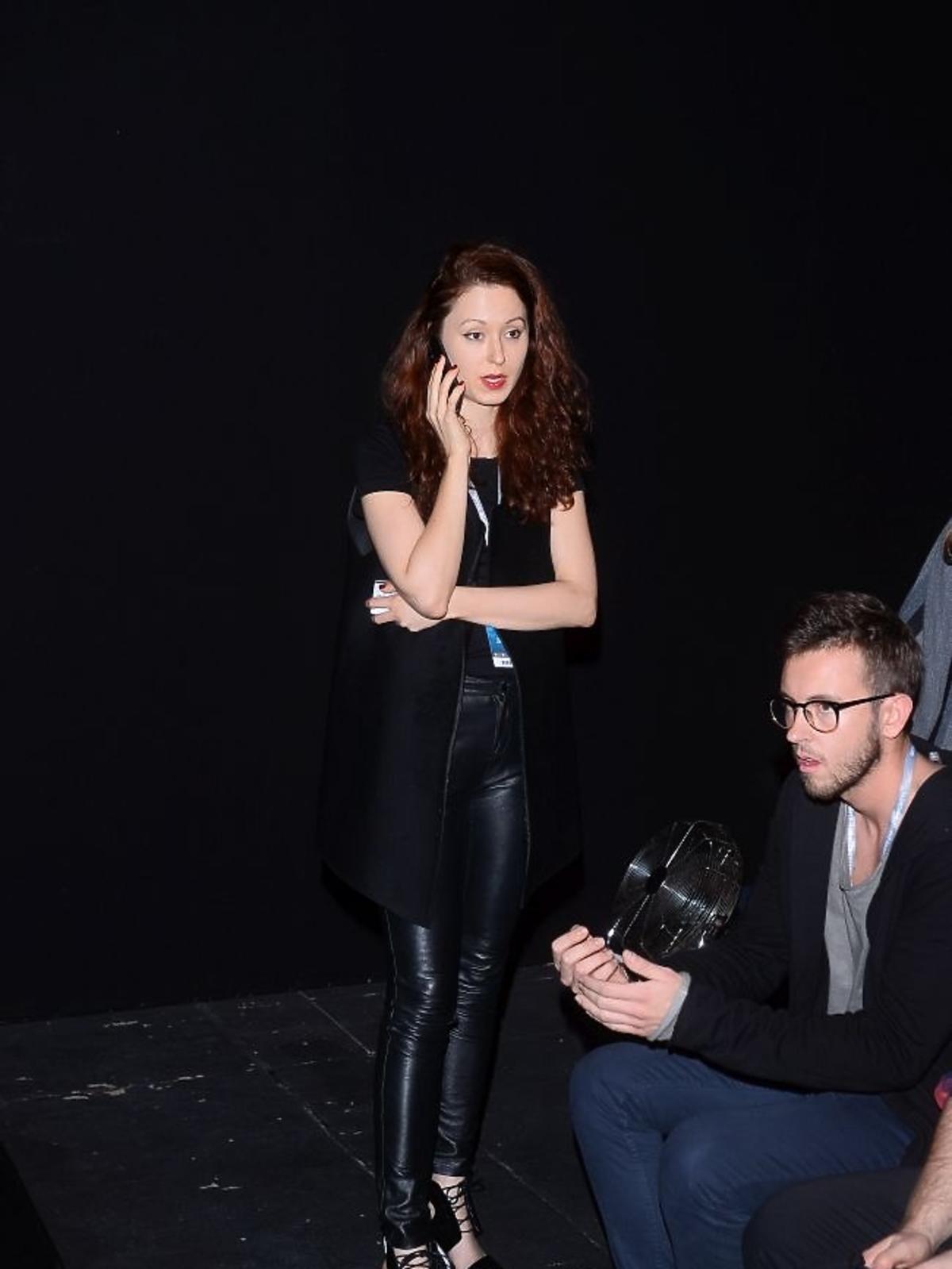 Liliana Pryma na Fashion Week w Łodzi