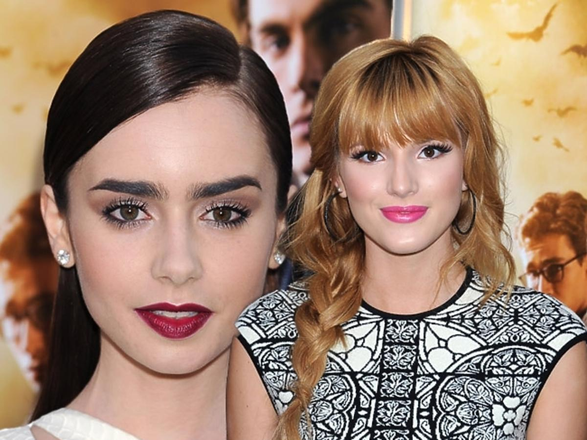 Lilly Collins, Bella Thorne
