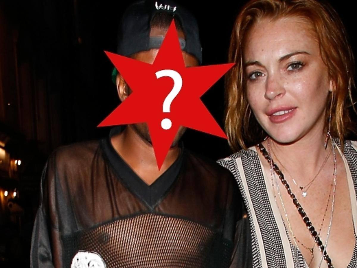 Lindsay Lohan i Vas J Morgan w Londynie