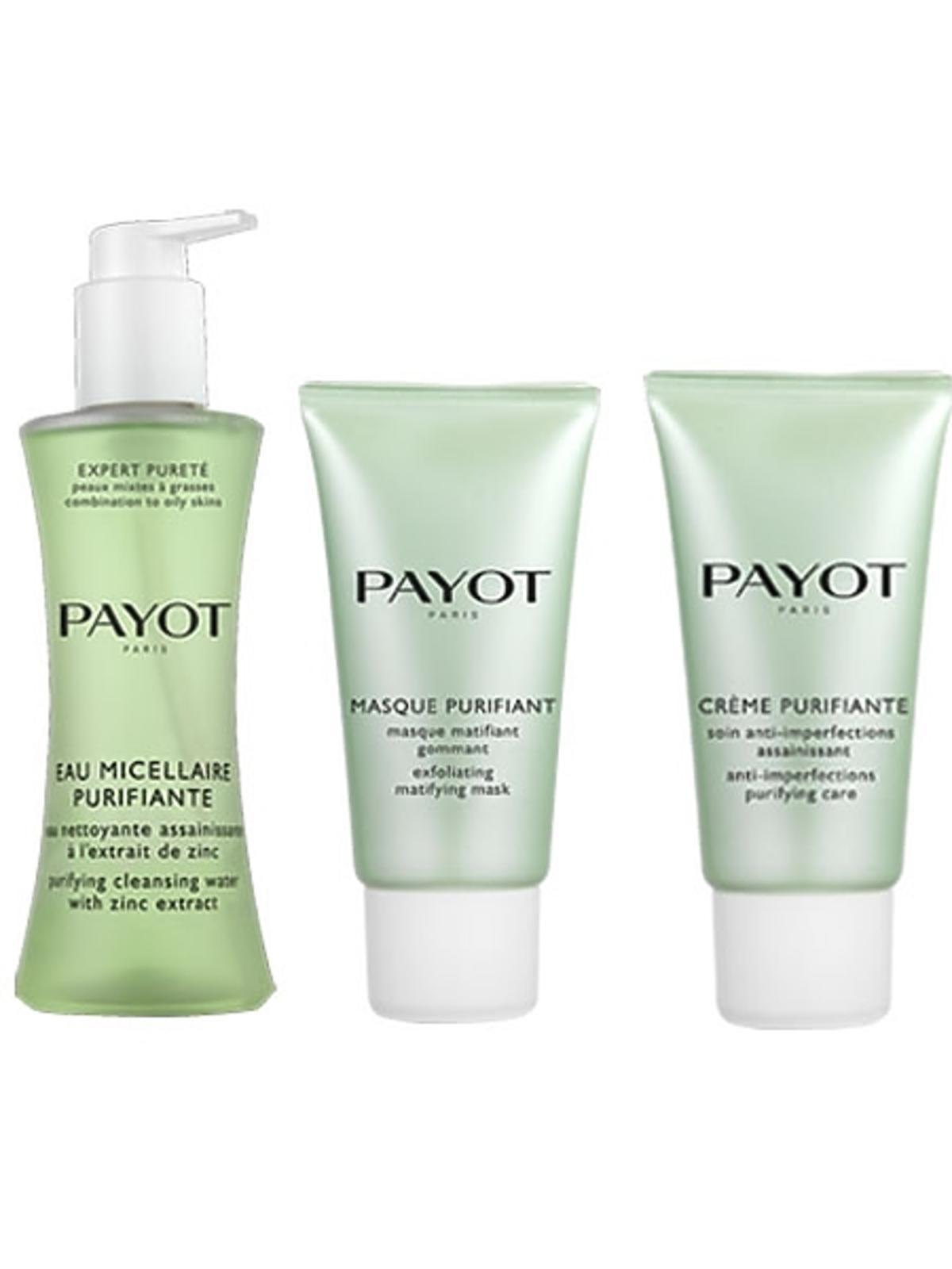 Linia preparatów oczyszczających i złuszczających Payot Puri Expert