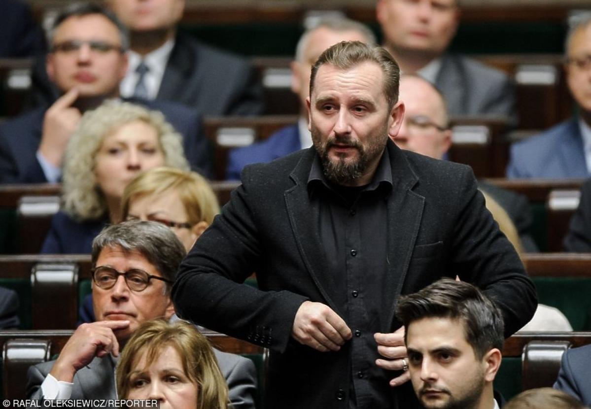 Liroy podczas pierwszego posiedzenia Sejmu