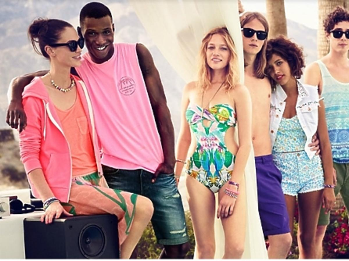 Lokbook H&M na lato 2013