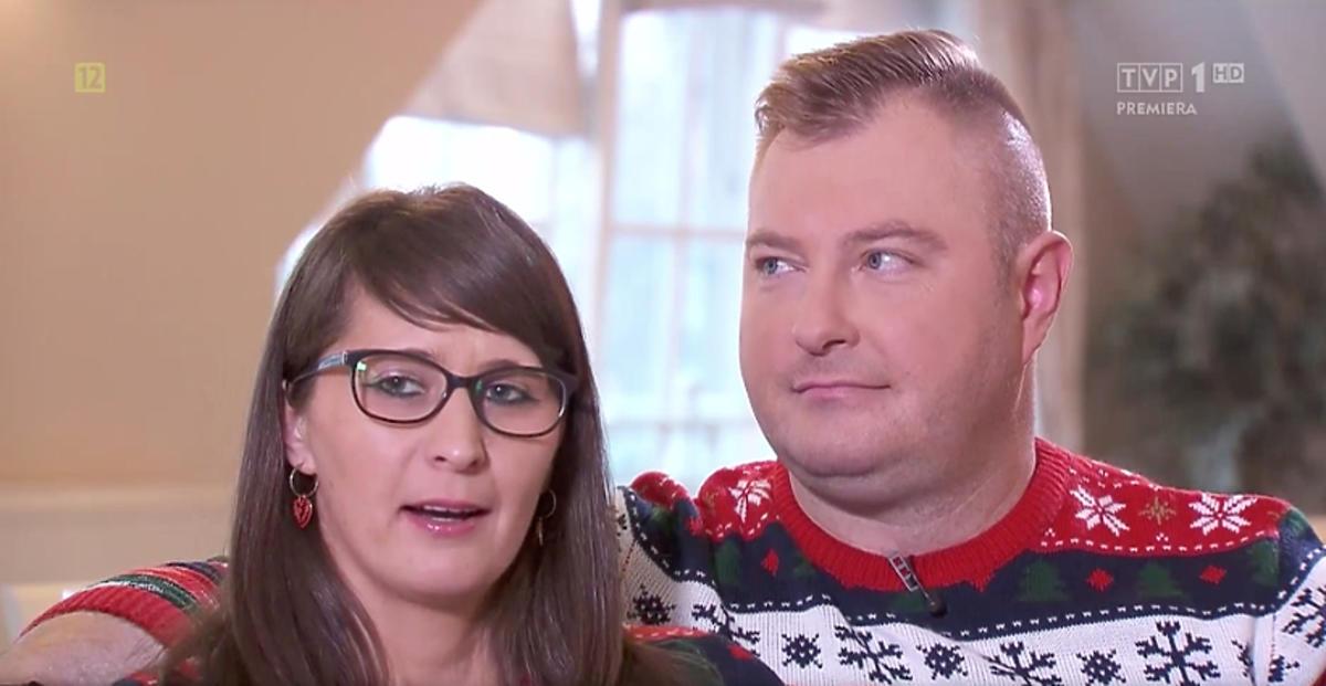 Łukasz i Agata z Rolnik szuka żony na planie świątecznego odcinka