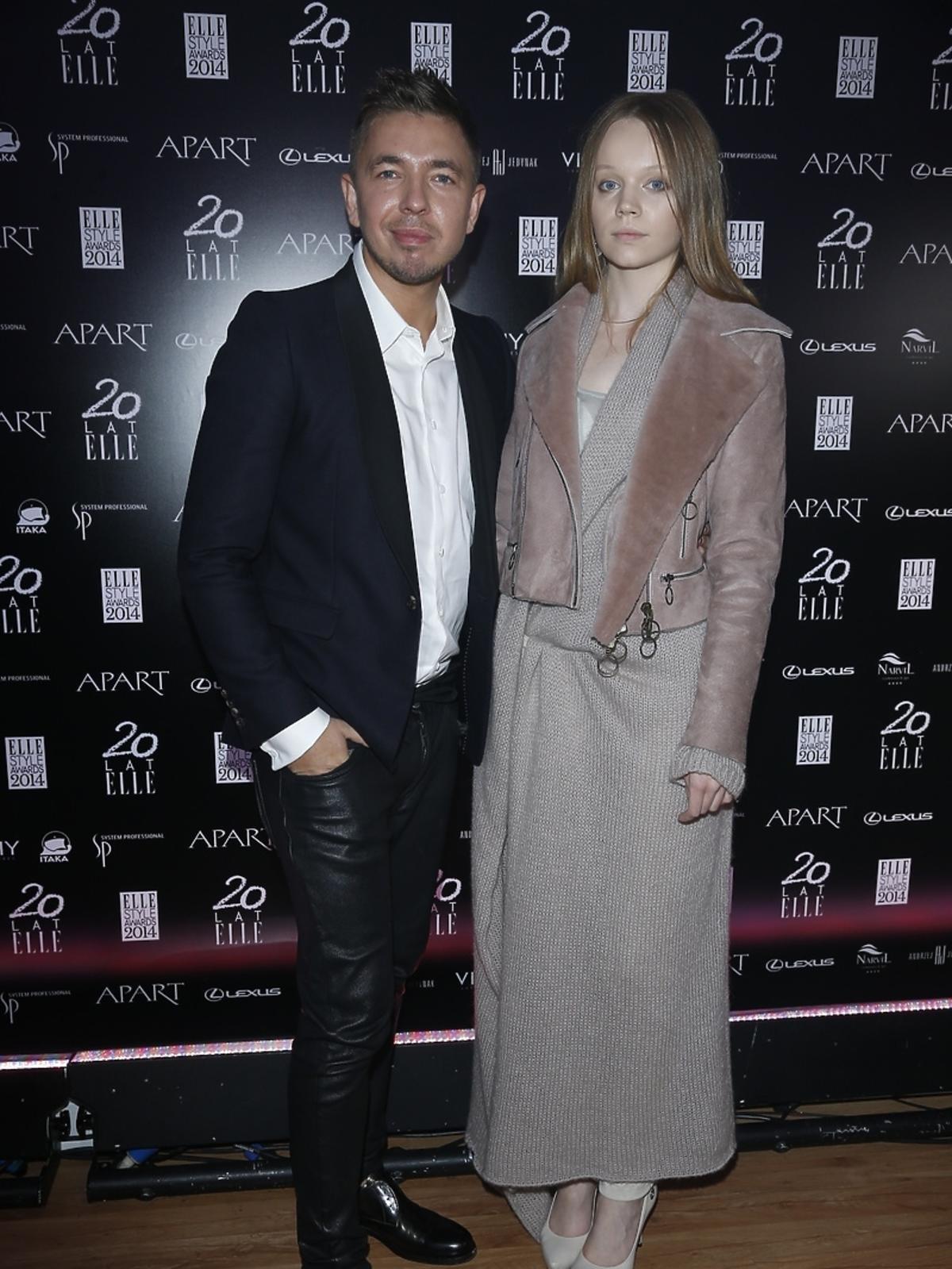 Łukasz Jemioł na Elle Style Awards 2014