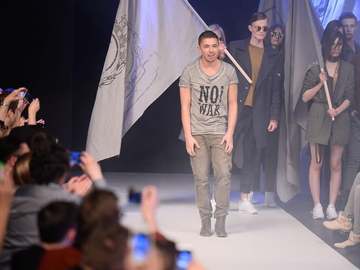 Łukasz Jemioł na Fashion Week w Łodzi