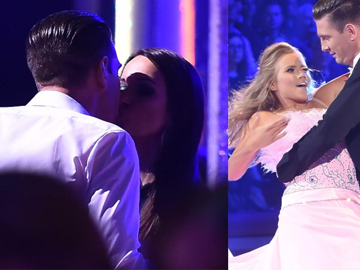 Łukasz Kadziewicz z żoną, Barbarą podczas finału Tańca z Gwiazdami