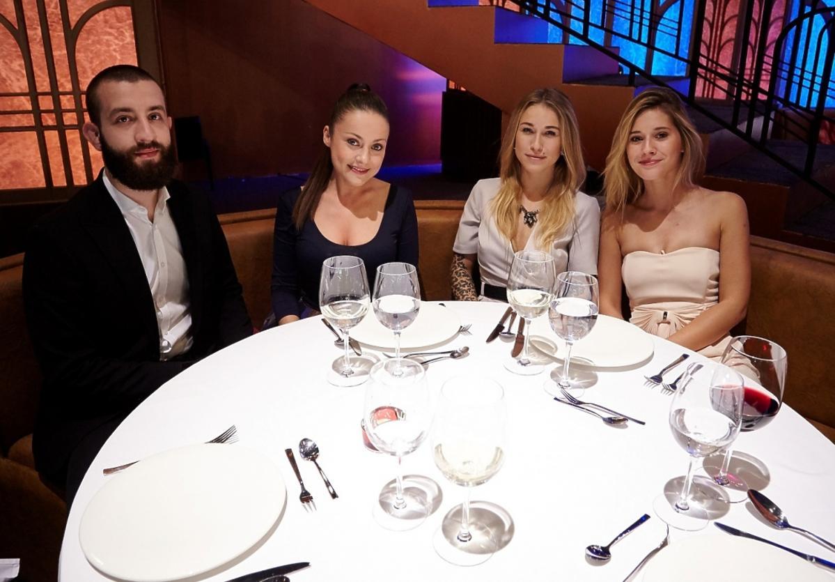 Lukasz Paulina Kawaller, Monika Dabrowska, Katarzyna Domanska w Hell's Kitchen