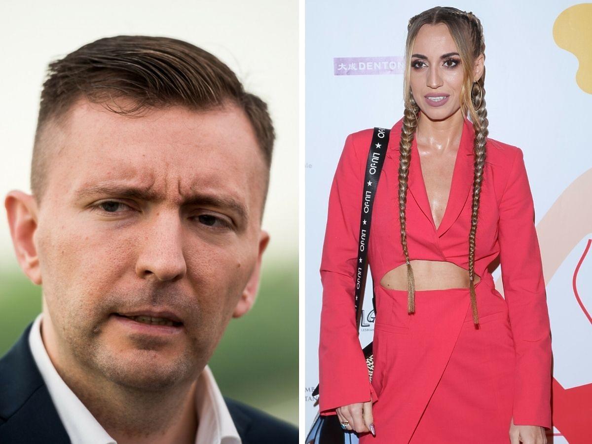 Łukasz Schreiber komentuje występ żony w Top Model