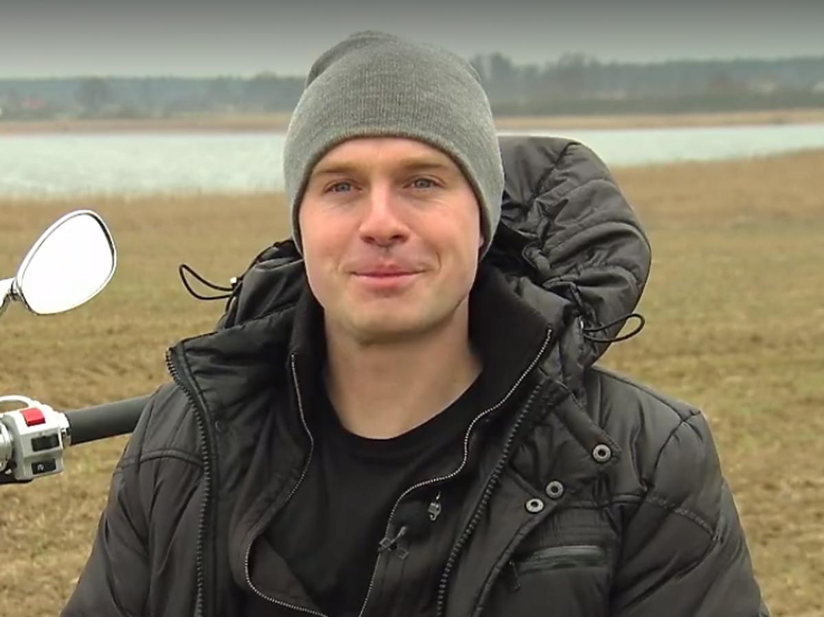 Łukasz - uczestnik trzeciej edycji Rolnik szuka żony