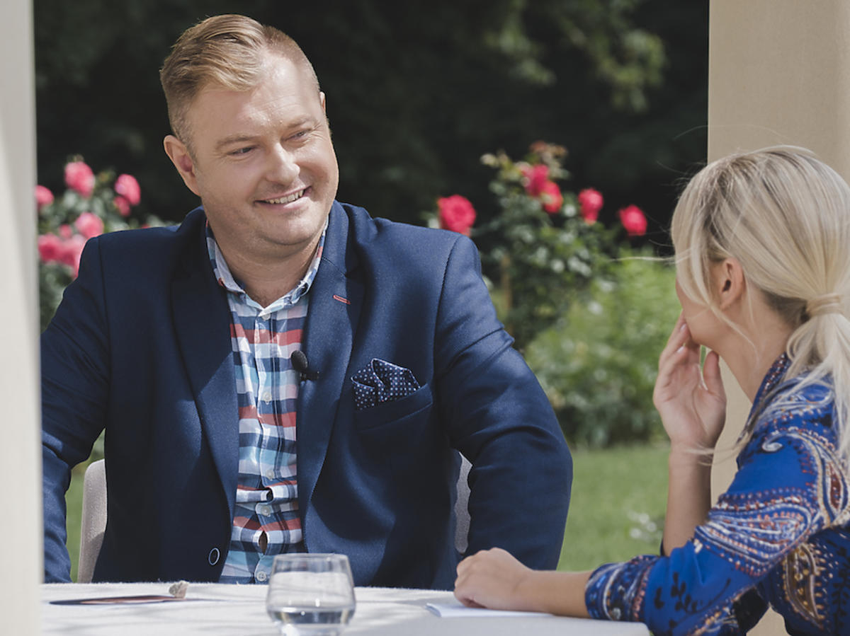 Łukasz z Rolnik szuka żony 5 na planie show