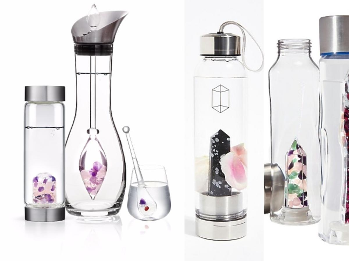 luksusowe butelki na wodę