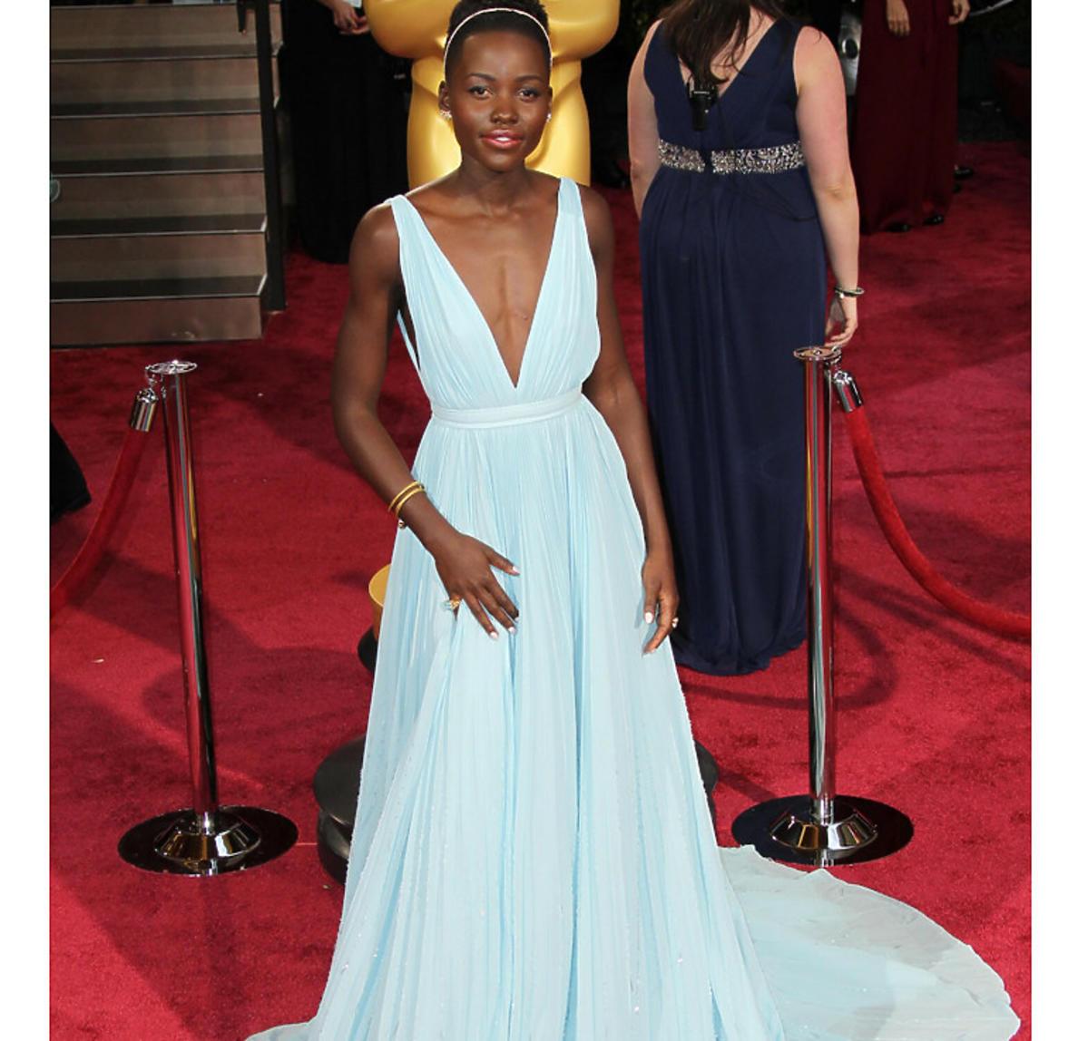Lupita Nyong'o na Oscarach 2013