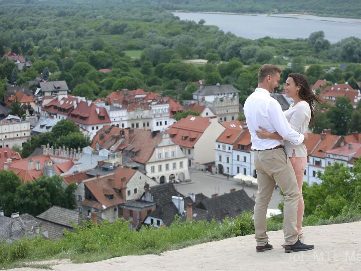 M jak miłość: Madzia i Budzyński na randce w Kazimierzu Dolnym