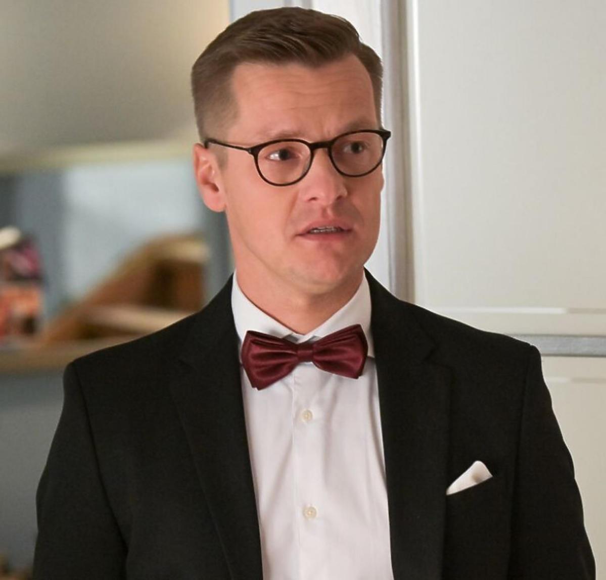 M jak miłość, Marcin Mroczek zdjęcia z planu serialu