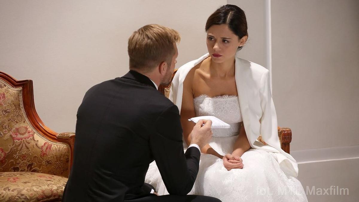 M jak miłość ślub Izy i Aruta odc. 1373