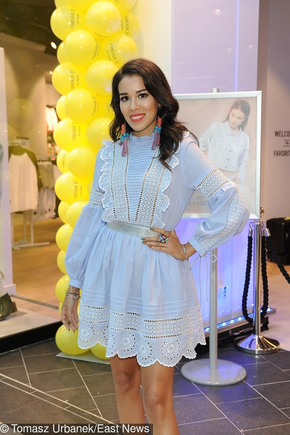 Macademian Girl na otwarciu sklepu w Arkadii