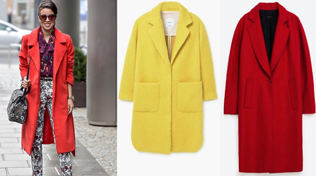 Macademian Girl w czerwonym płaszczu