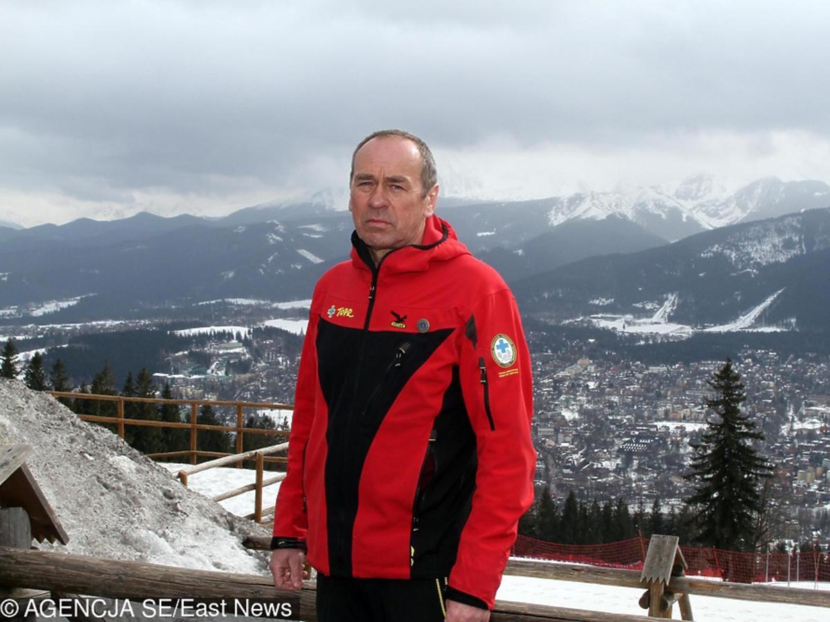 Maciej Berbeka w górach