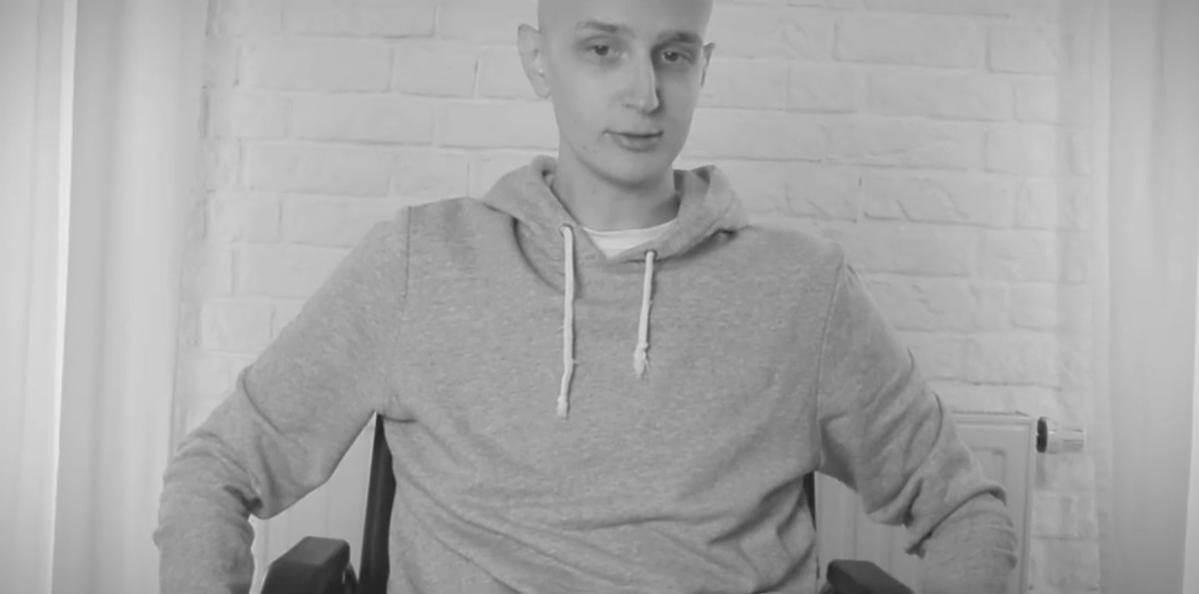 Maciej Cieśla o walce z chorobą - wideo