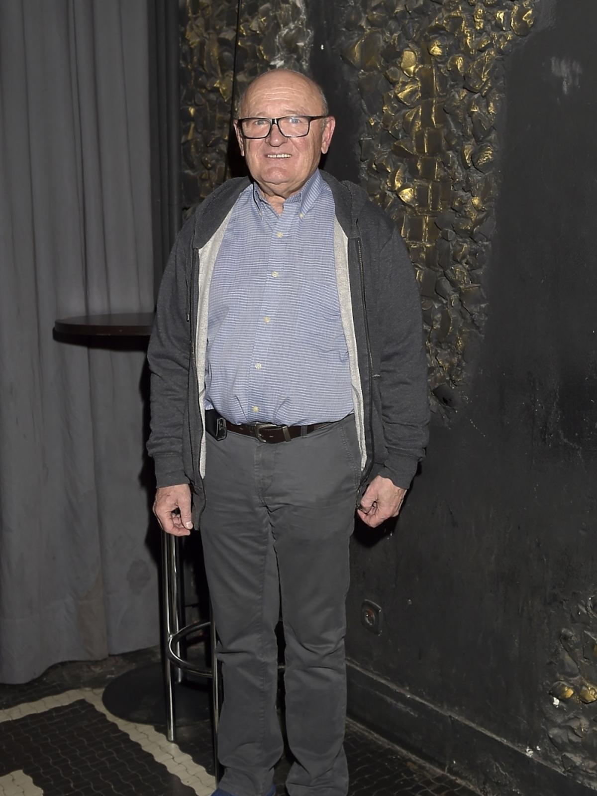Maciej Damięcki  na premierze spektaklu