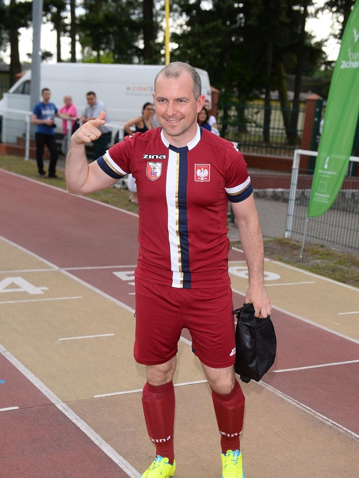 Maciej Florek w sportowym stroju
