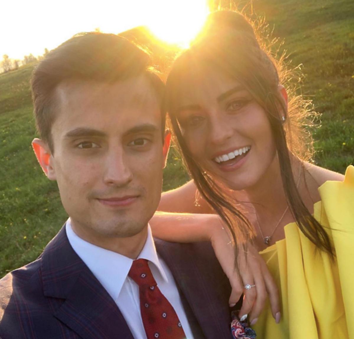 Maciej Kot i Agnieszka Lewkowicz na ślubie przyjaciół