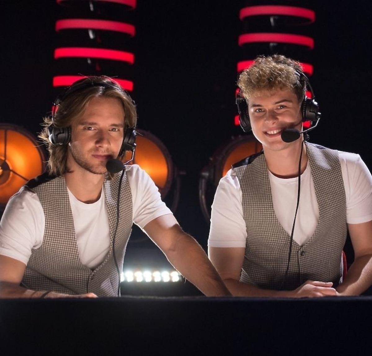 Maciej Musiał i Adam Zdrójkowski w The Voice of Poland