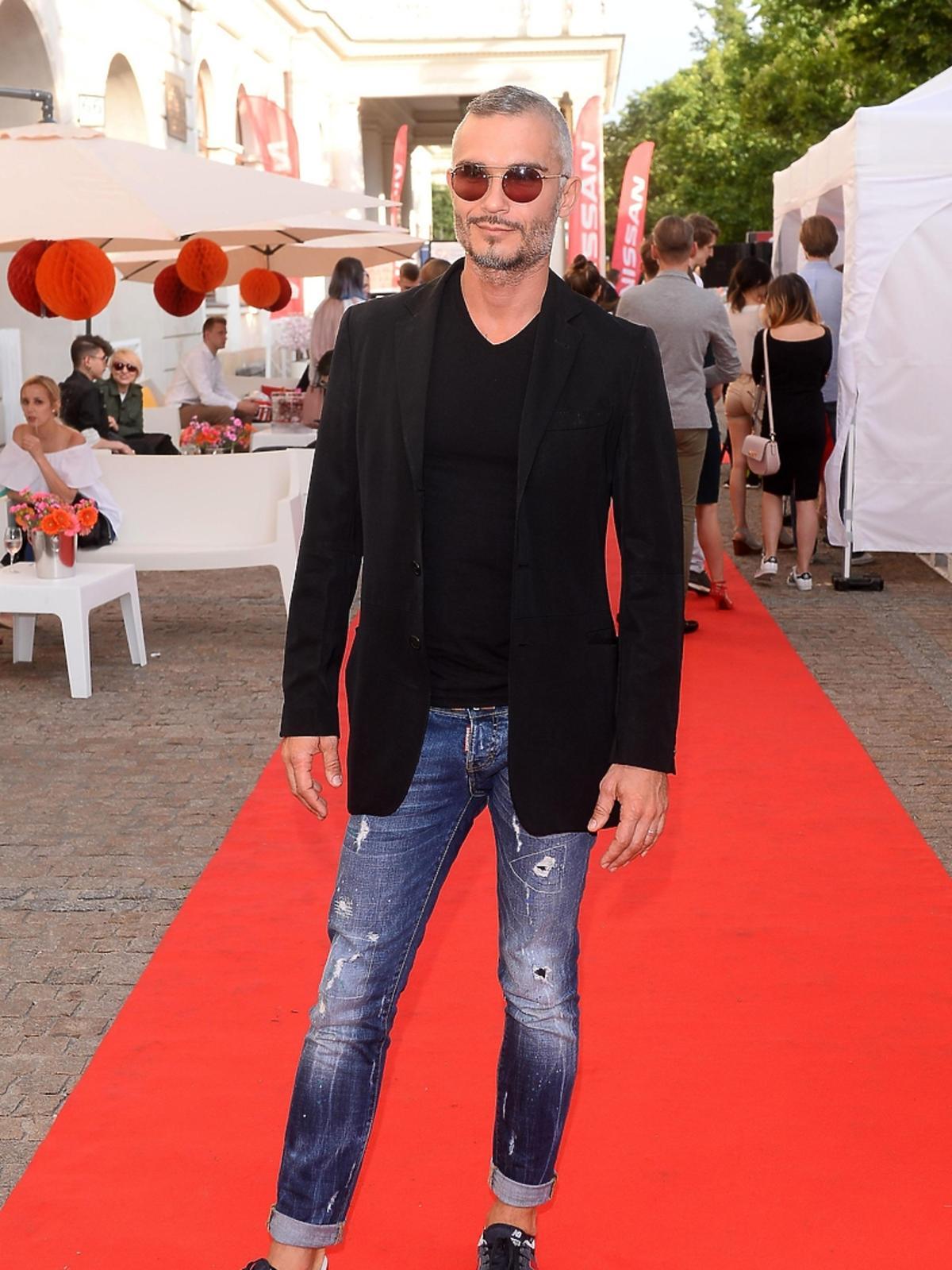 Maciej Myszkowski na Warsaw Fashion Street