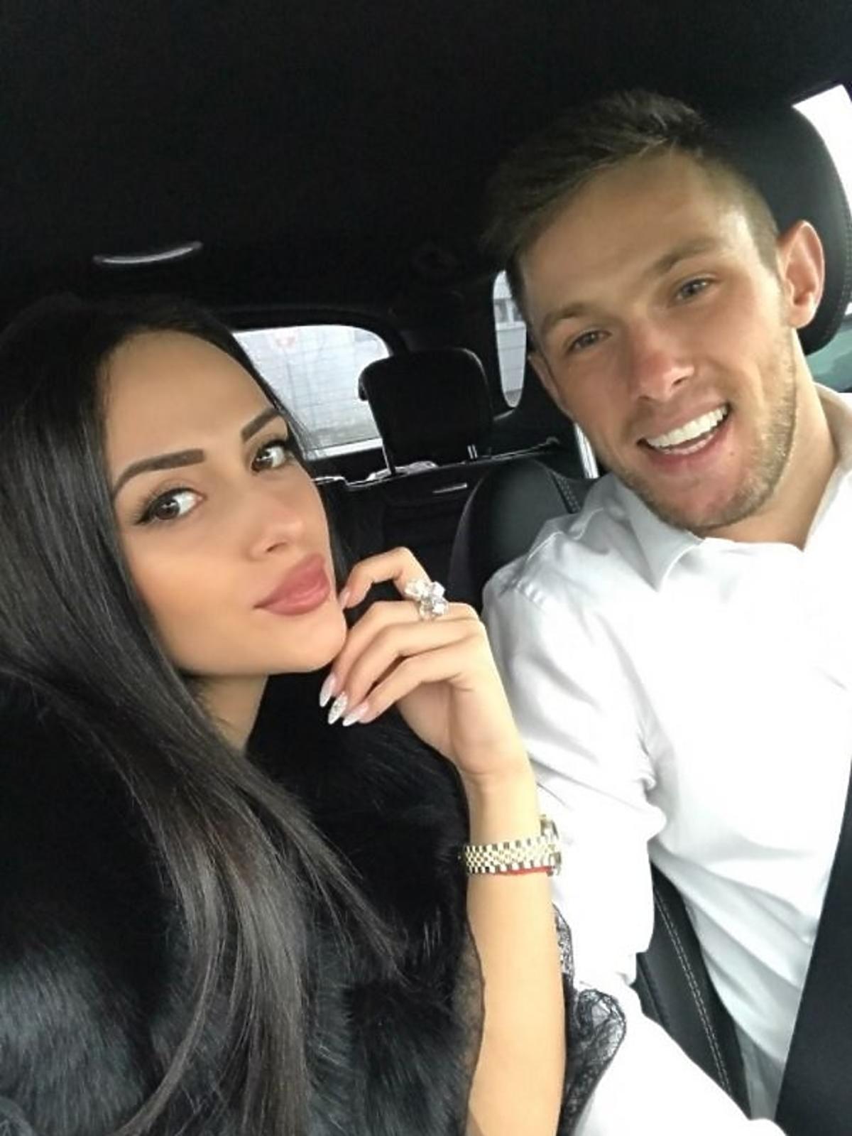 Maciej Rybuś oświadczył się swojej partnerce