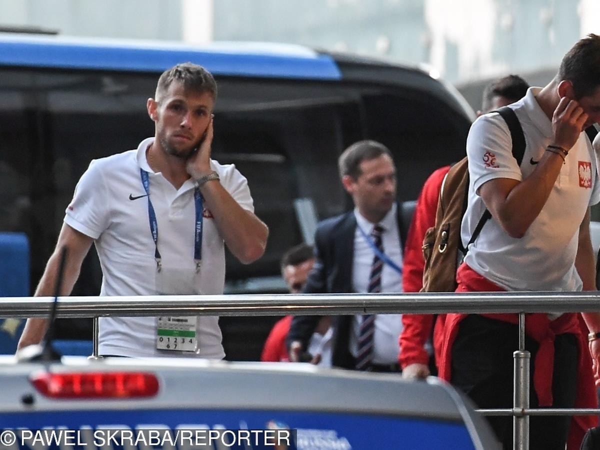 Maciej Rybus po meczu z Kolumbią