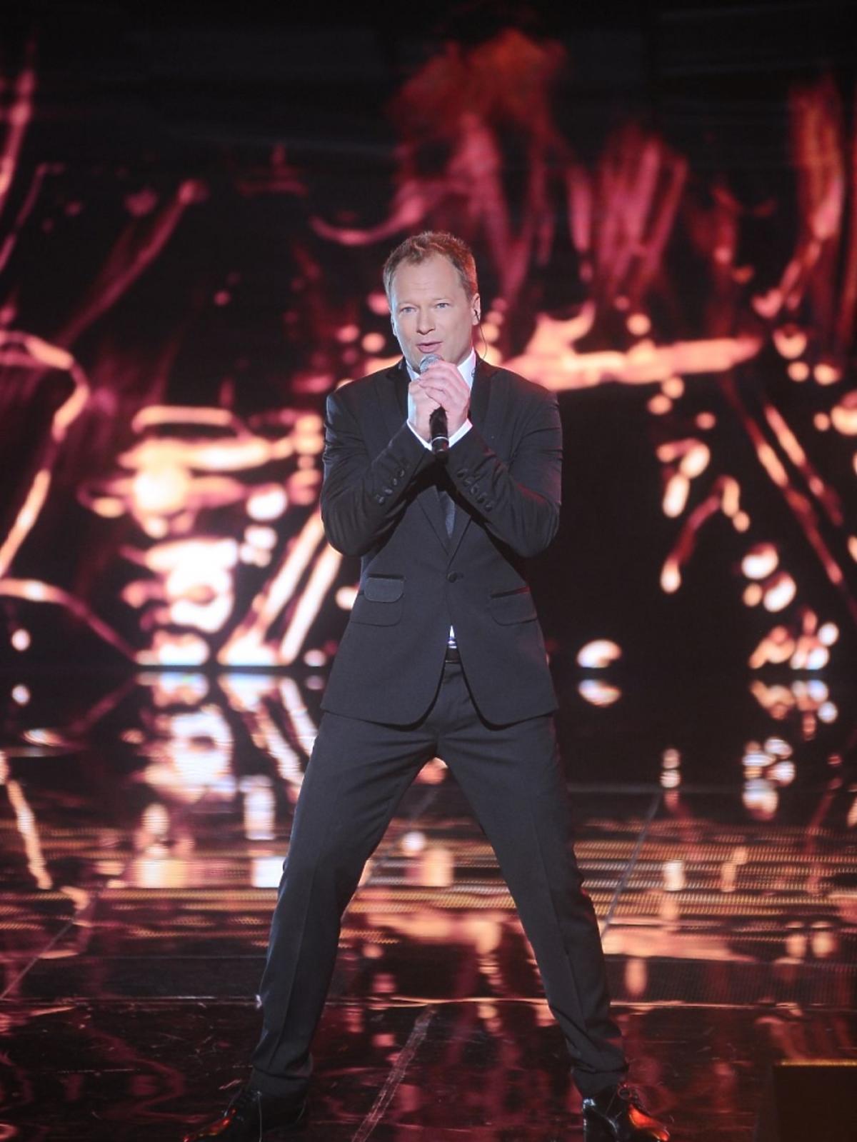 Maciej Stuhr na świątecznym koncercie Listy do M