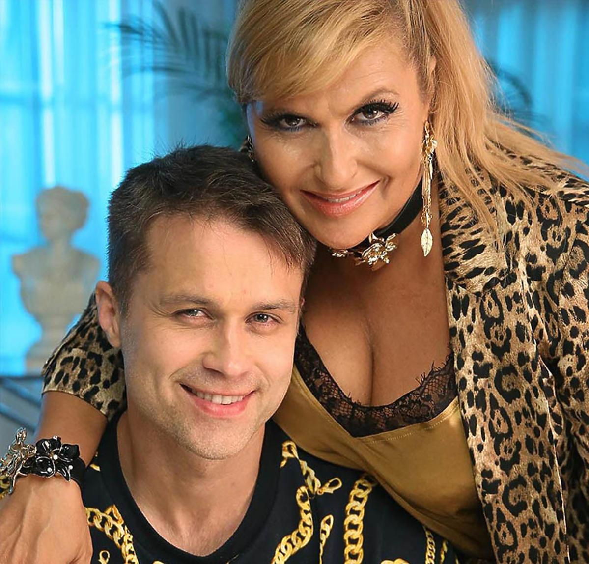 Maciej Zakościelny i Katarzyna Skrzynecka w filmie