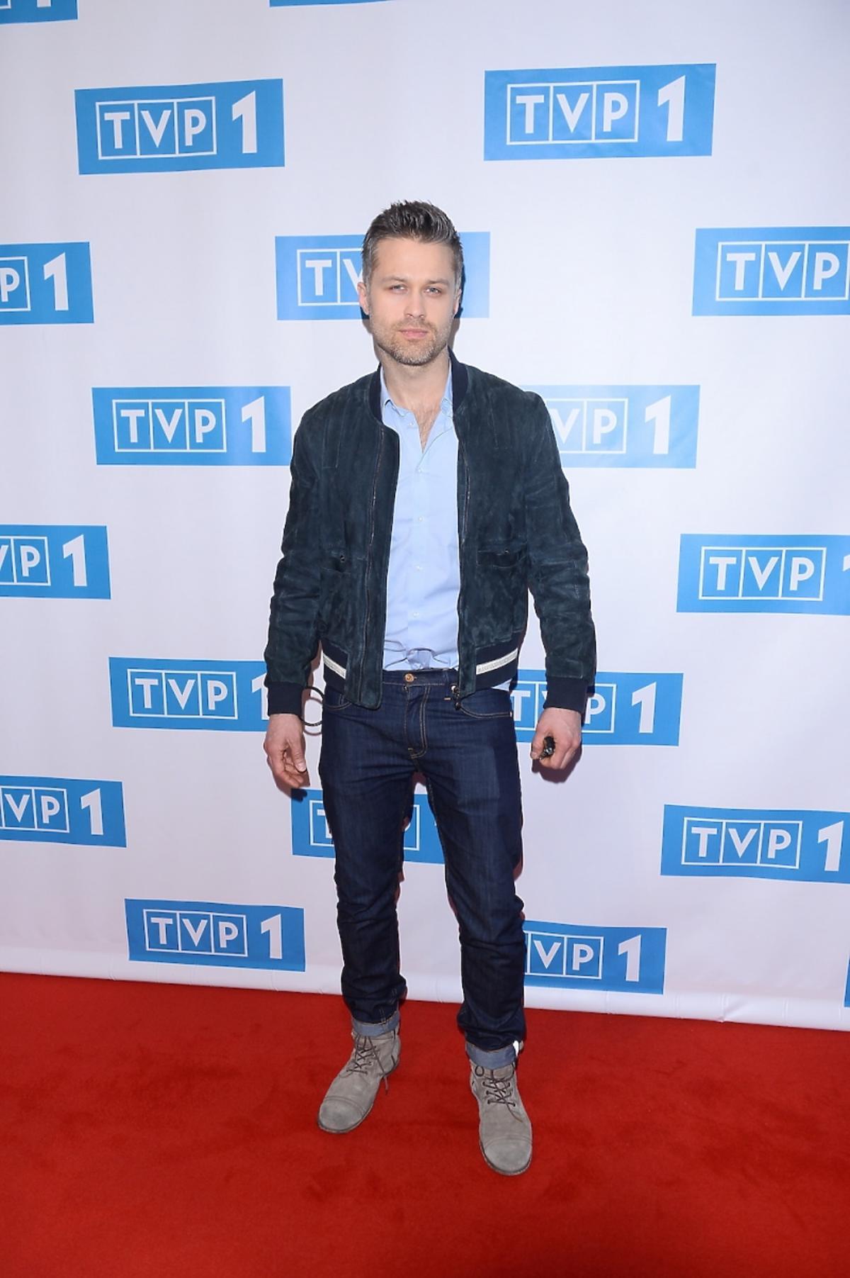 Maciej Zakościelny na ramówce TVP 1