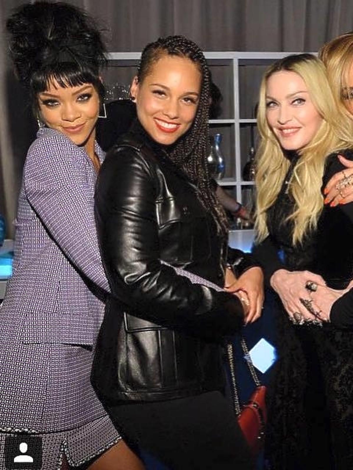 Madonna, Alicia Keys, Byeonce i Rihanna na premierze seriwsu TIDAL