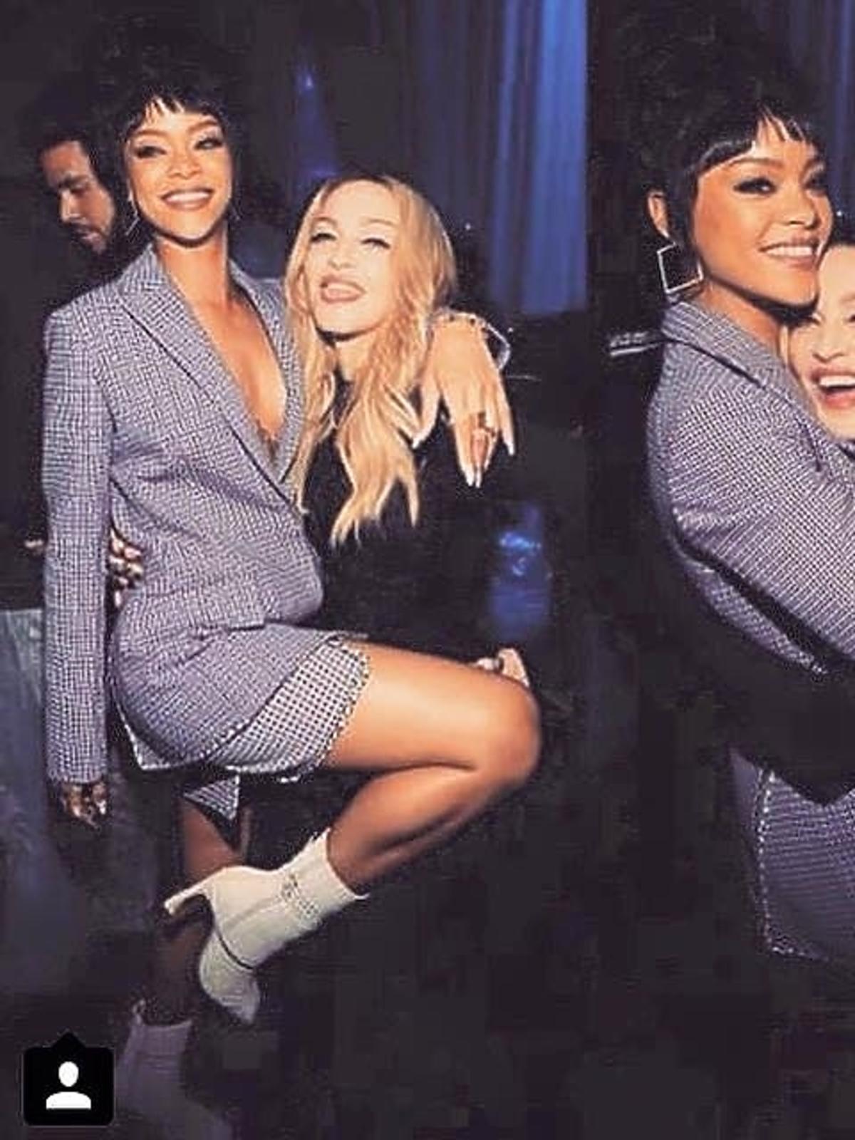 Madonna i Rihanna na premierze seriwsu TIDAL