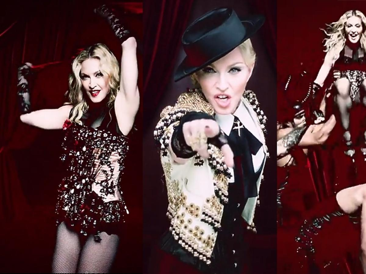 Madonna Living For Love teledysk