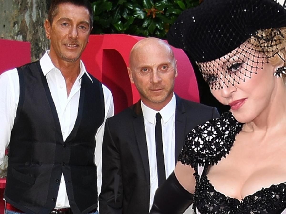 Madonna o aferze z Dolce&Gabbana