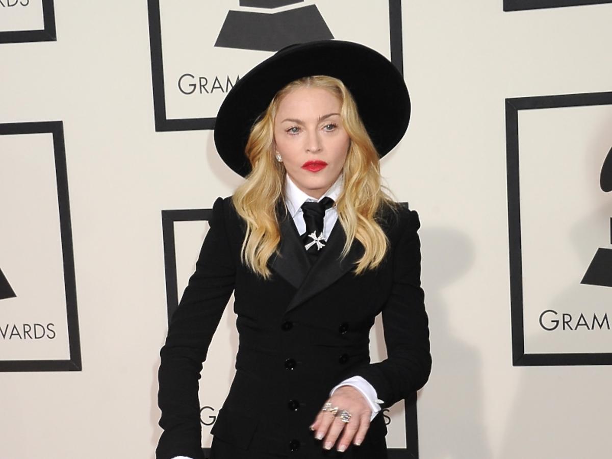 Madonna w ciąży na rozdaniu Grammy 2014