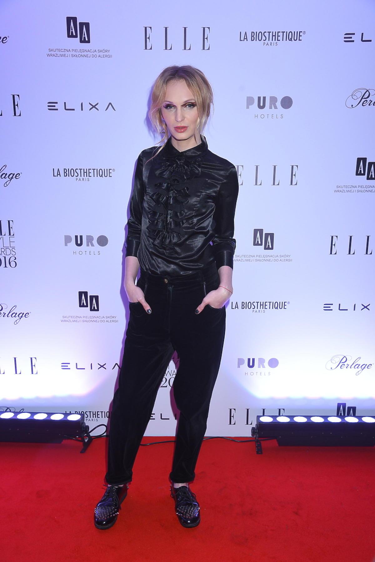 Madox na imprezie magazynu Elle